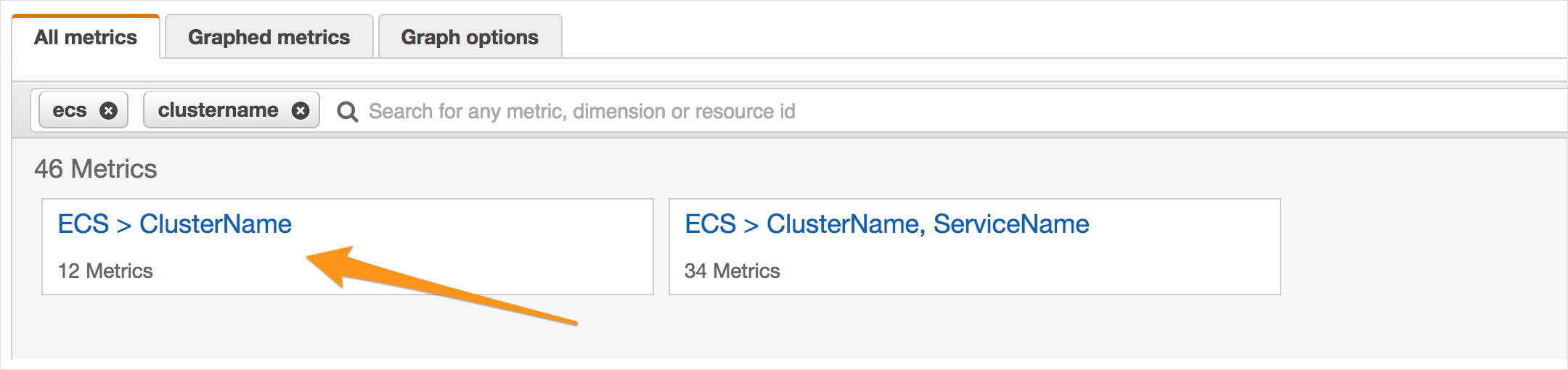 ECS-auto-scaling-cluster-name-new