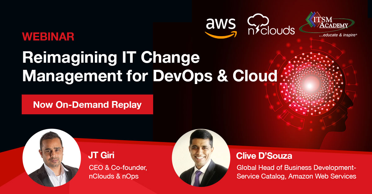 Reimagining IT Change Management for DevOps and Cloud