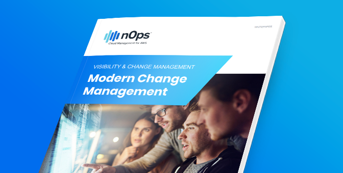 Modern change management for AWS cloud